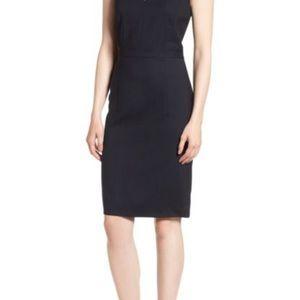 St. John Navy Skirt Size 4